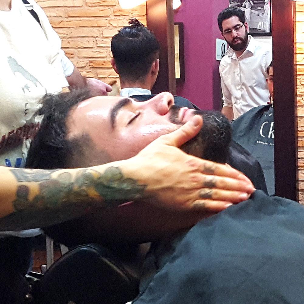 Arreglo de Barbas en Sevilla | Antes de afeitado