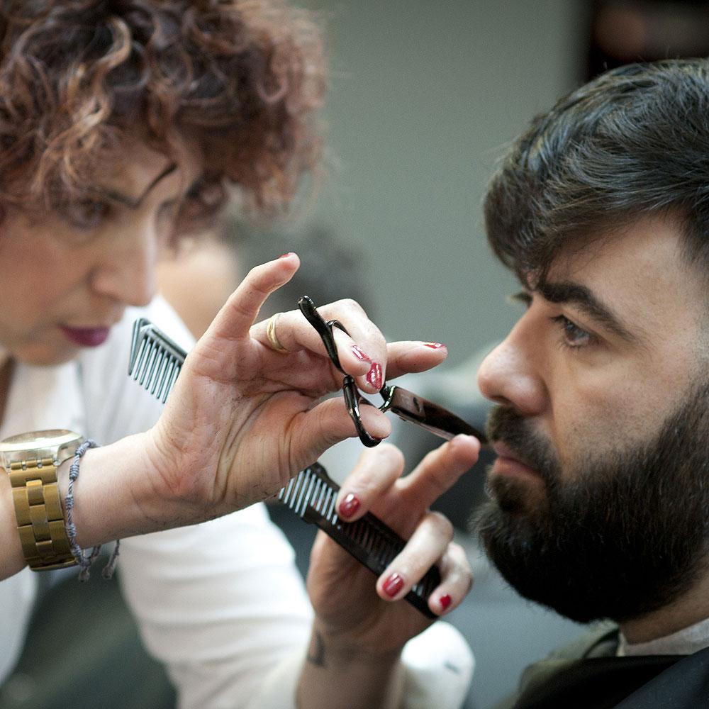 Arreglo de Barbas Corte a tijeras