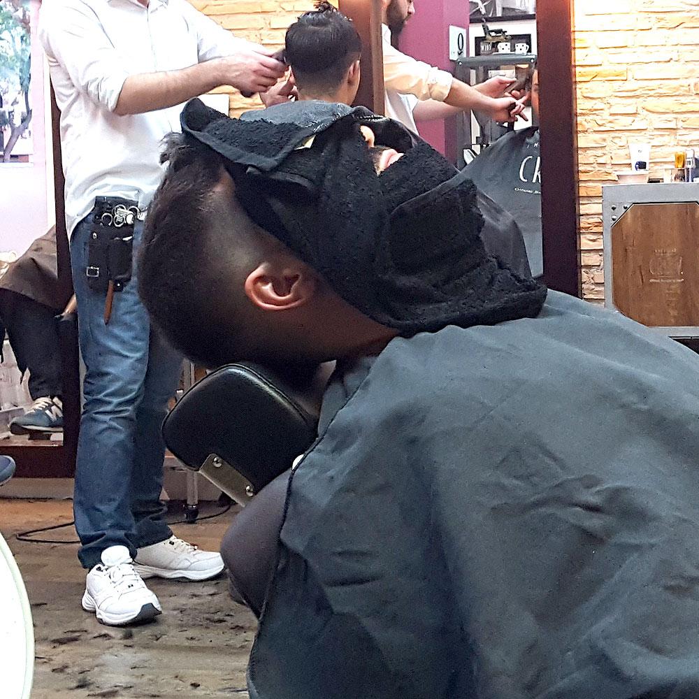 Arreglo Barbas en Sevilla | Toalla Caliente para abrir los poros