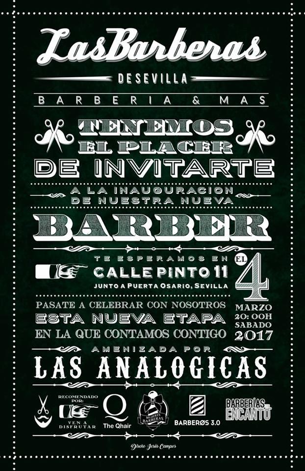 Inauguración Barbería Sevilla Centro