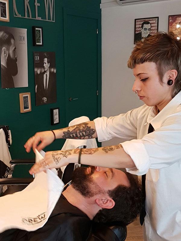 Tratamiento de Barbas en Sevilla después del afeitado a navaja