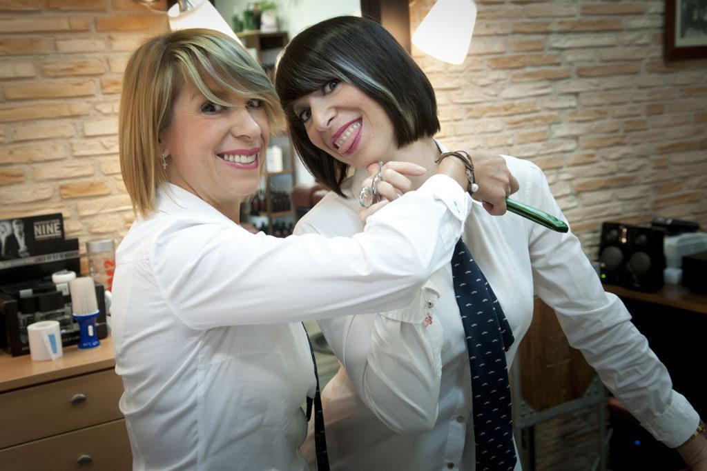 Virginia y Chari de las Barberas de Sevilla