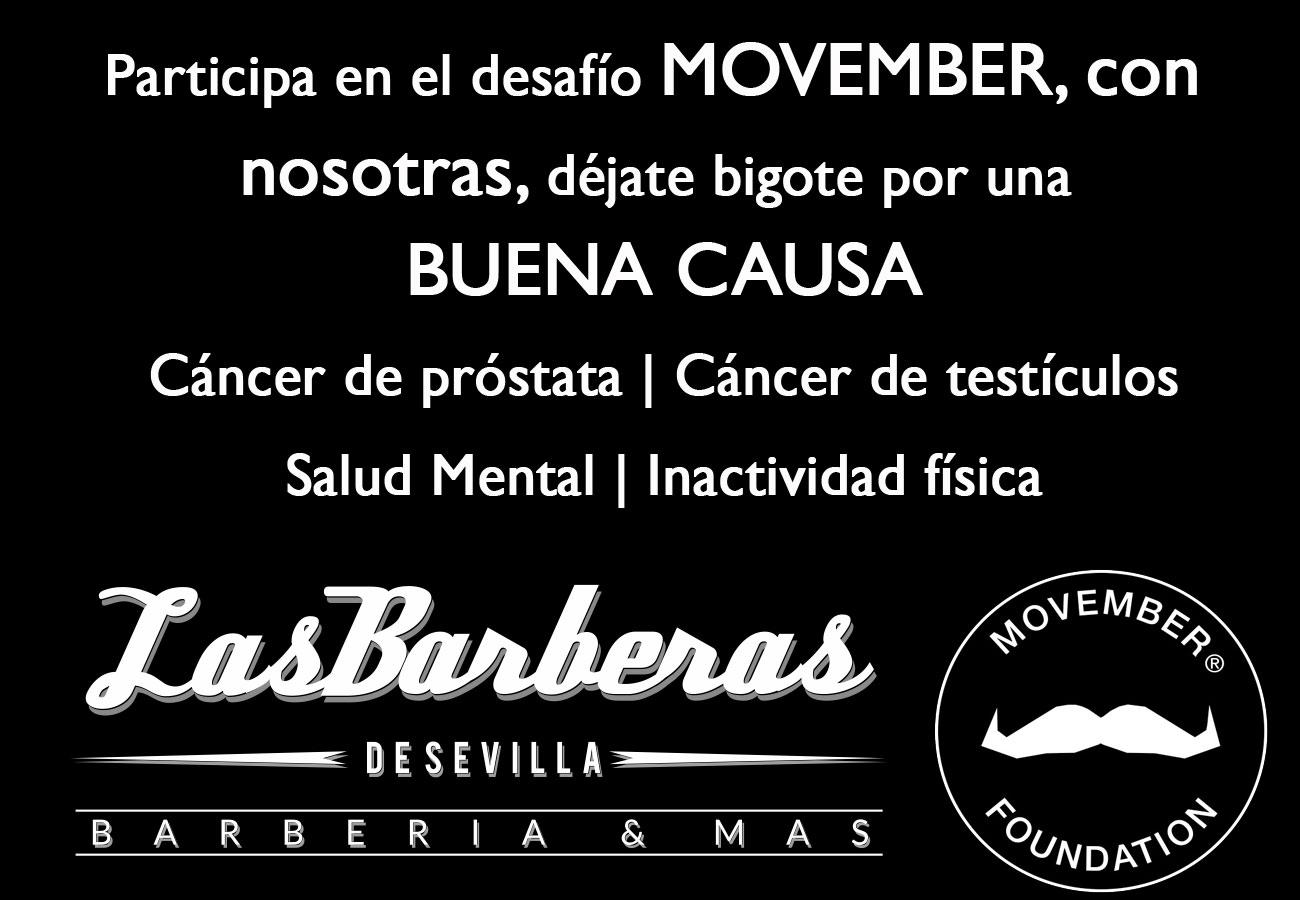 Movember en Sevilla