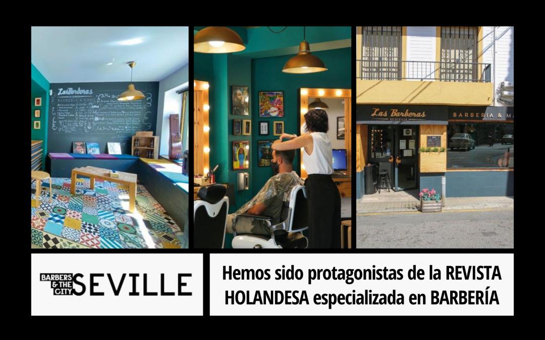 Hemos sido protagonistas de la REVISTA HOLANDESA especializada en BARBERÍA